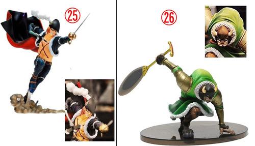 one piece boneco figure garp dragon franky brook reilly zoro