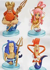 one piece boneco figure shirahoshi jinbee,importado do japão