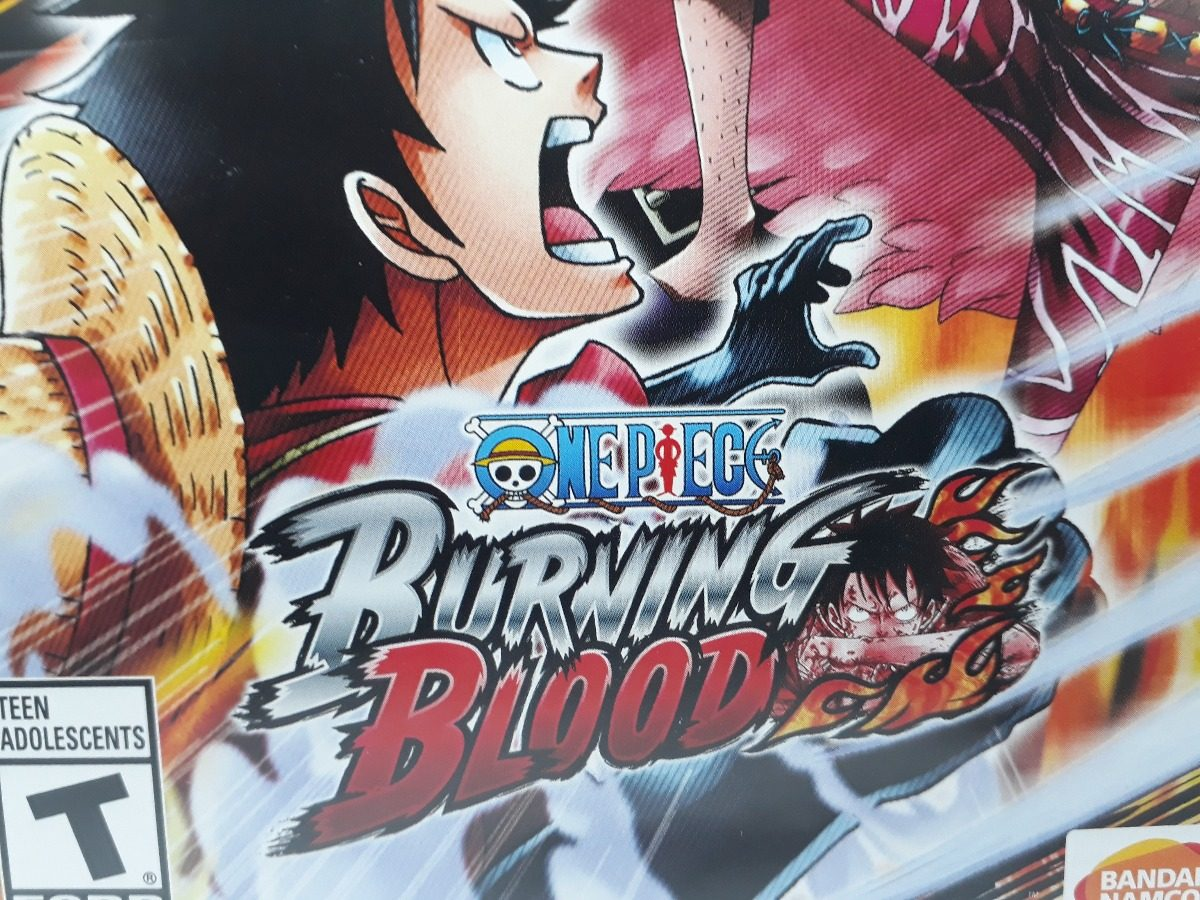 One Piece Burning Blood Ps4 Jogo Fsico Anime Original Sony R 120 Carregando Zoom