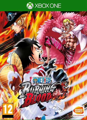 one piece burning blood - xbox one (25 dígitos)