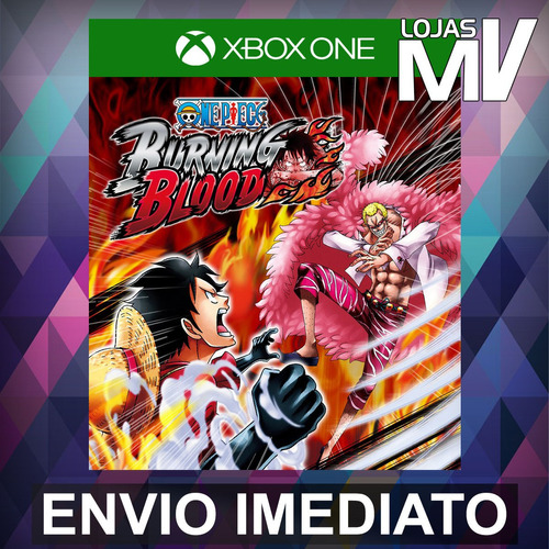 one piece burning blood - xbox one código 25 dígitos