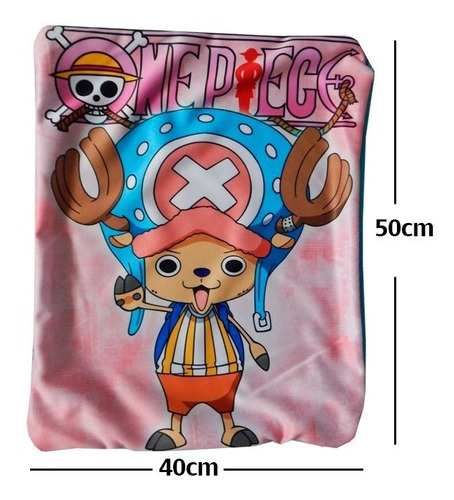 one piece chopper funda de almohada de 40 x 50cm