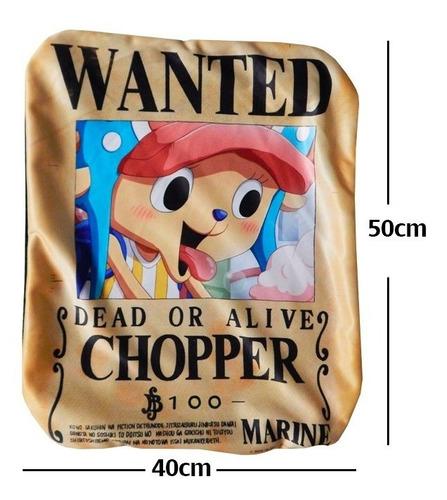 one piece chopper wanted funda de almohada de 40 x 50cm