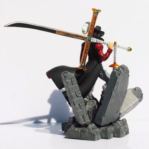 one piece dracule mihawk pvc action figure anime