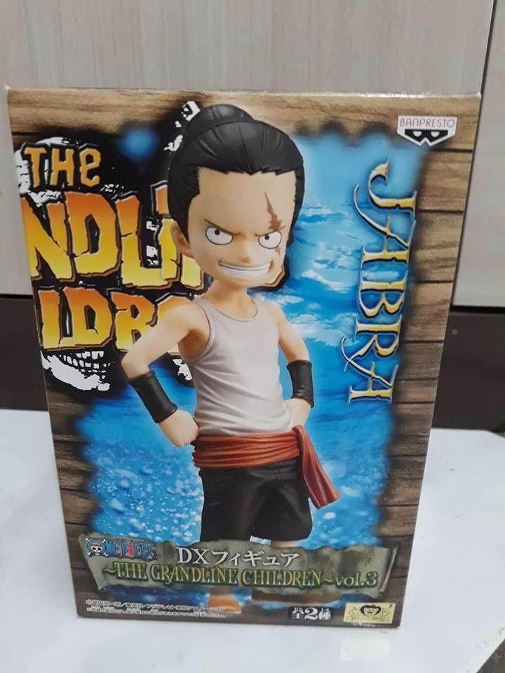 One Piece Dx Jabra 15 Cm - Banpresto Lacrado Luffy