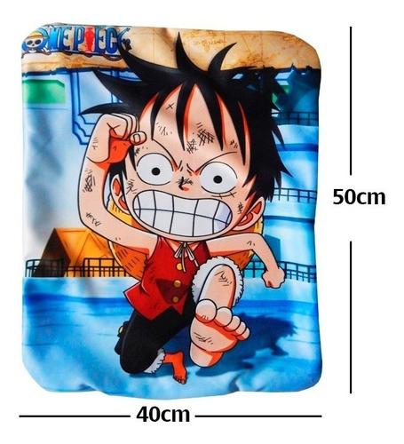 one piece luffy chibi funda de almohada de 40 x 50cm calidad