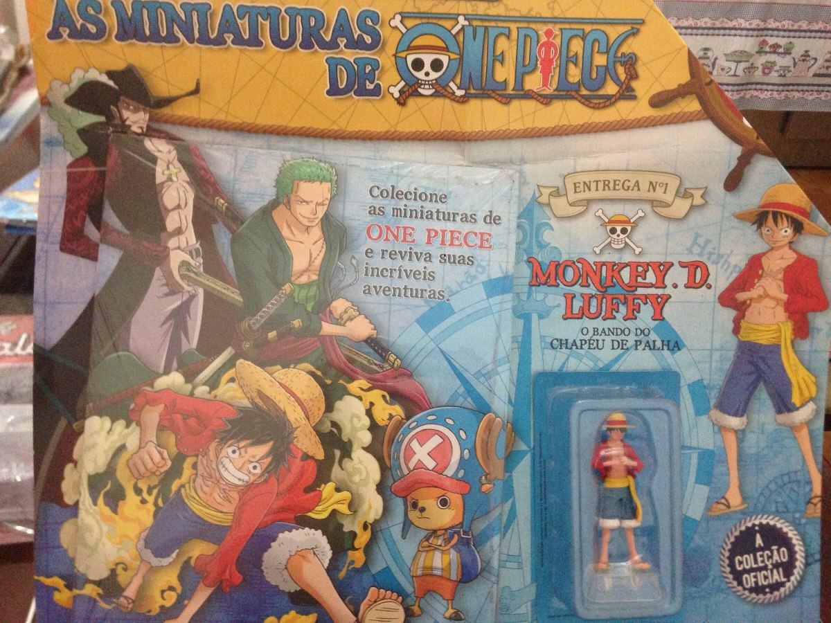 One Piece Miniatura Coleção Oficial Salvat Edição 1 - R  49 58282d24aa1
