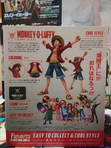 one piece monkey d. luffy figuarts zero bandai original!!!
