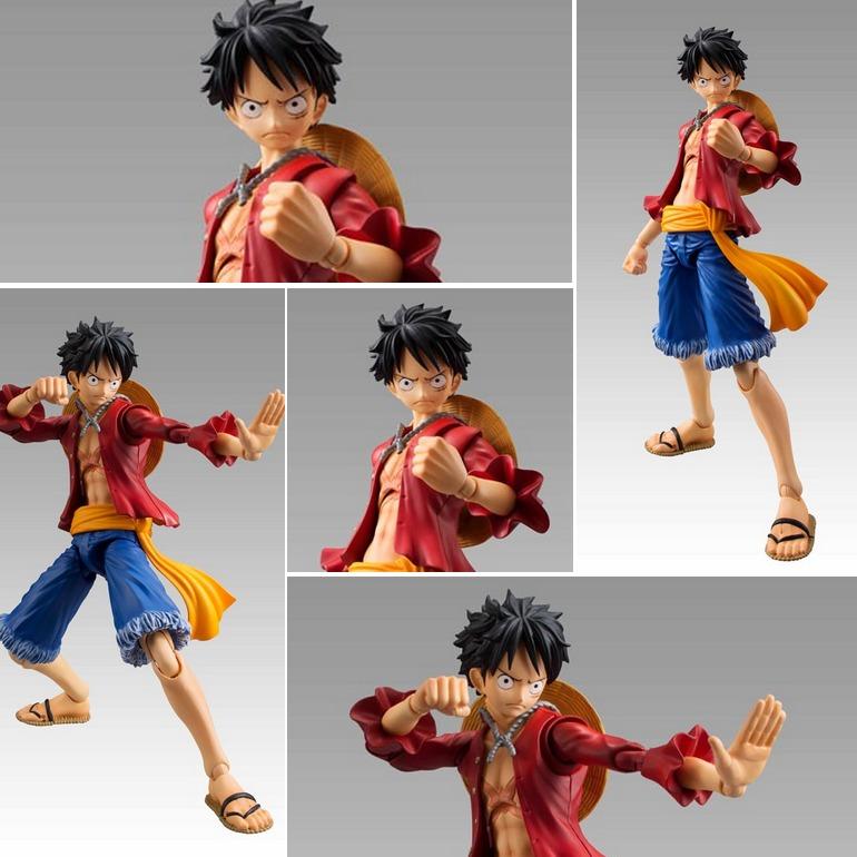 One Piece Monkey D Luffy Figura Articulada (animekawaii) - S  135 6242ddc81b6