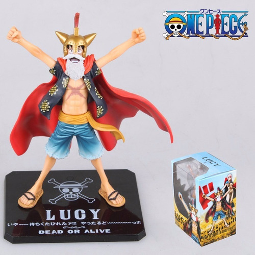 one piece - monkey d luffy  vers. lucy