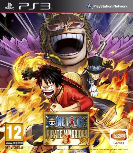one piece: pirate warriors 3 ps3 digital