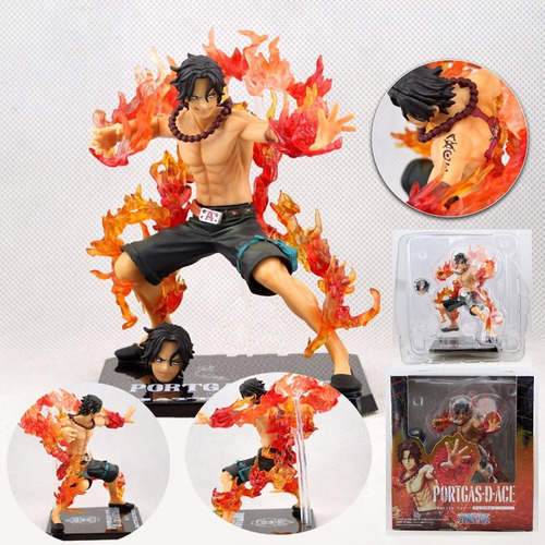 one piece portgas d ace battle vers. bandai