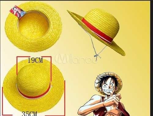 bf38c377292bd One Piece Sombrero De Paja Luffy Mugiwara Original Único -   550