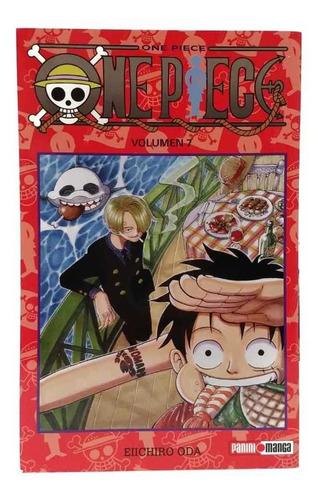 one piece tomo 7 manga panini original en español