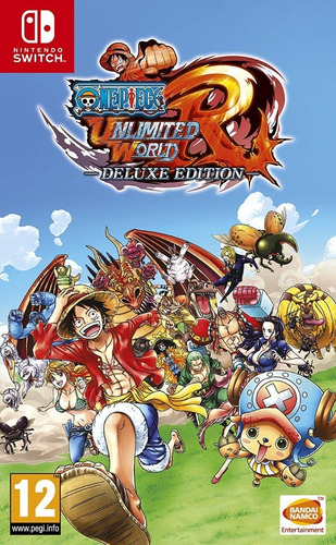 one piece unlimited world red deluxe - nintendo switch