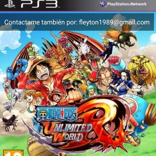 one piece unlimited world red juego ps3 digital paypal bitco