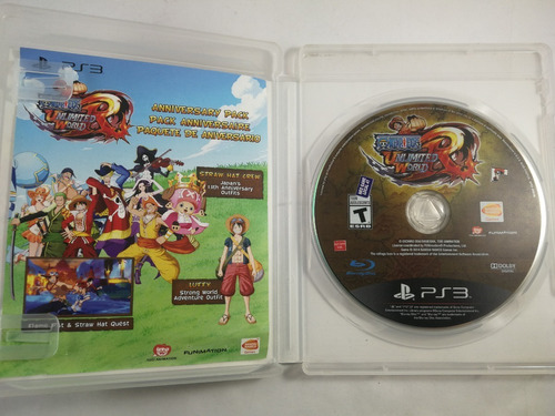 one piece unlimited world red ps3 fisico original