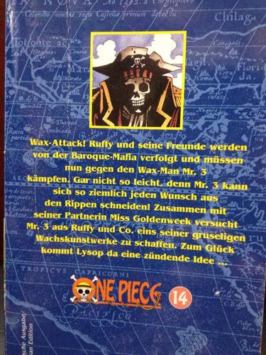 one piece - vol. 14 - en alemán - eiichiro oda - carlsen com