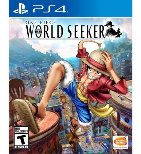 one piece world seeker ps4 fisico sellado entrega inmediata