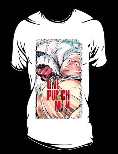 one punch man a sublimada hombre o mujer talla ch,m