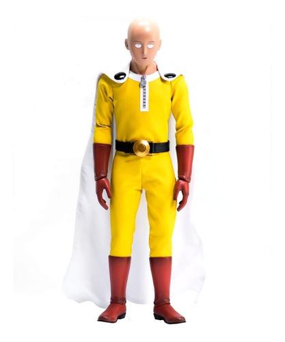 one punch man - saitama figura 1/6 threezero - robot negro