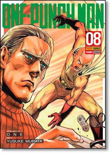 one punch man vol 08 de murata yusuke one