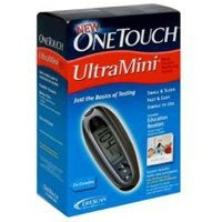 one touch ultramini sistema diabetes kit - 1 azul