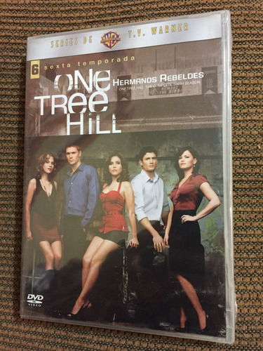 one tree hill hermanos rebeldes temporada 6 dvd nuevo