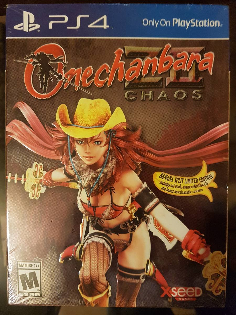 onechanbara z2 chaos banana split limited edition