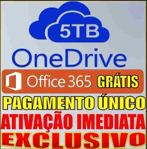 onedrive 5tb vitalicio pgto único melhor que google drive