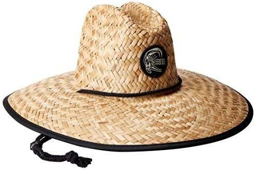 o'neill men's sonoma imprime sombrero de paja, natural, un