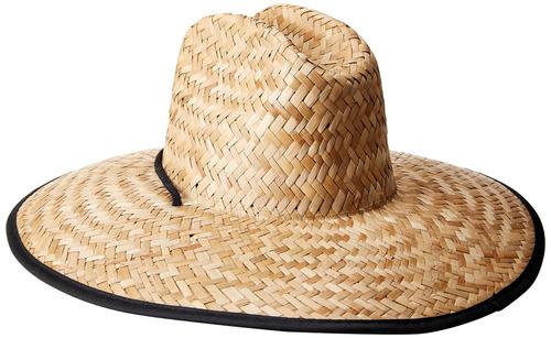 o'neill men's sonoma prints straw hat, naturl1, one size