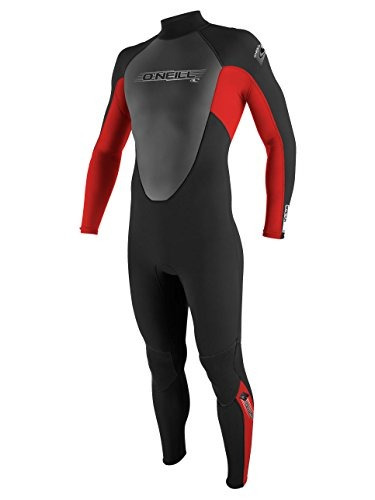 o'neill wetsuits mens 3 / 2mm reactor traje completo, negro