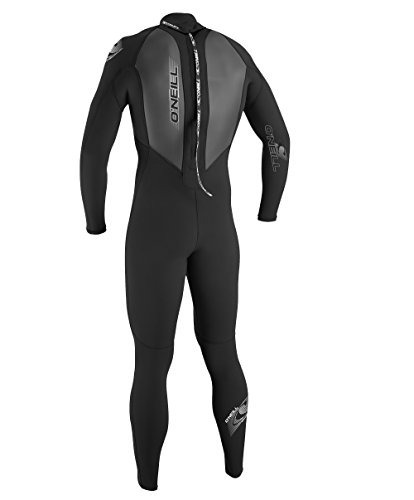 o'neill wetsuits mens 3 / 2mm reactor traje completo, negro,