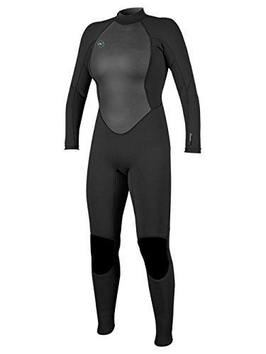 o'neill wetsuits reactor de mujer ii 3 / 2mm back zip full w