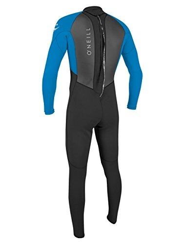 o'neill wetsuits reactor para hombres ii 3 / 2mm back zip fu