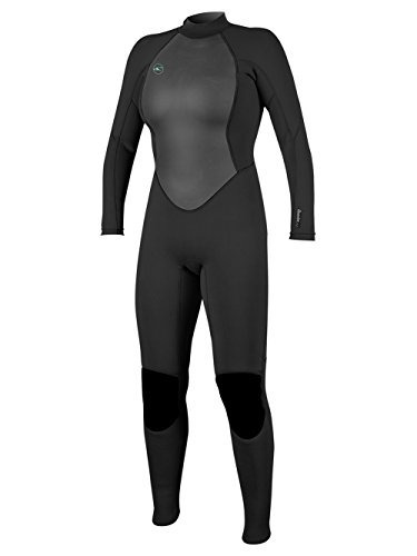 o'neill wetsuits reactor para mujer ii 3 / 2mm cremallera co