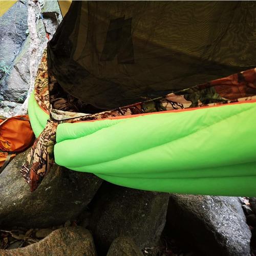 onetigris - colcha para hamaca de invierno para acampada