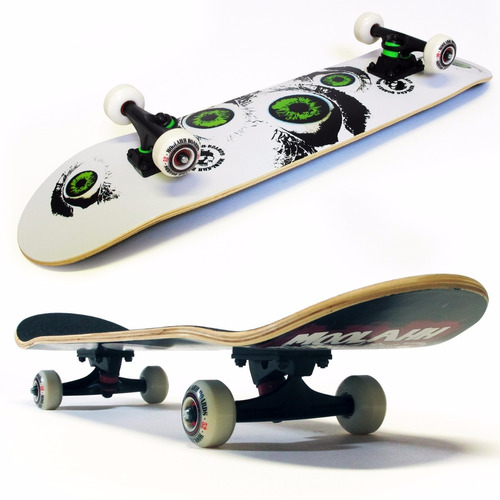 oneway - skate doble tail de maple moolahh boards 20 modelos