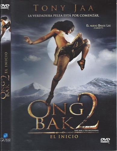 ong bak 2 el inicio con tony jaa dvd nacional