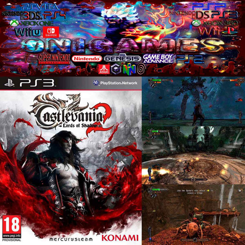 oni games - castlevania lords of shadows 2 ps3