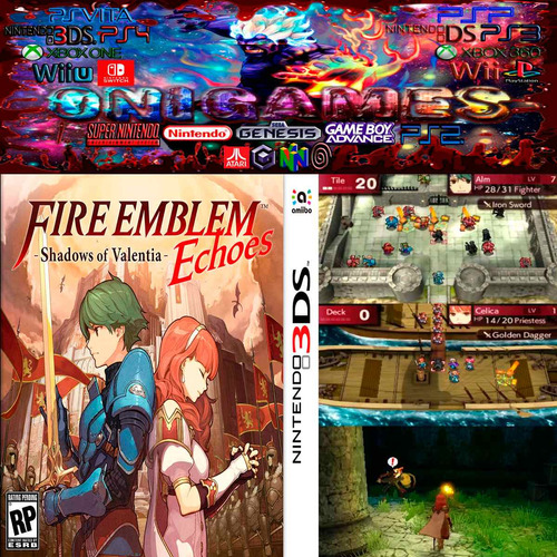 oni games - fire emblem echoes limited edition 3ds