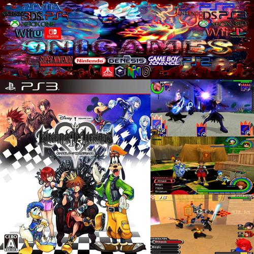 oni games - kingdom hearts 1.5 remix ps3