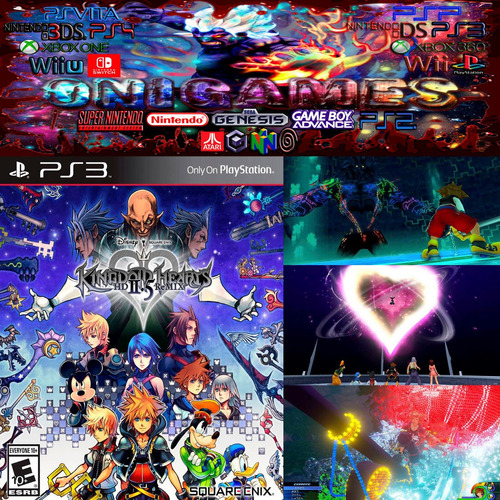 oni games - kingdom hearts 2.5 remix ps3