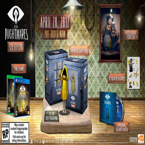 oni games - little nightmares six edition x-box one