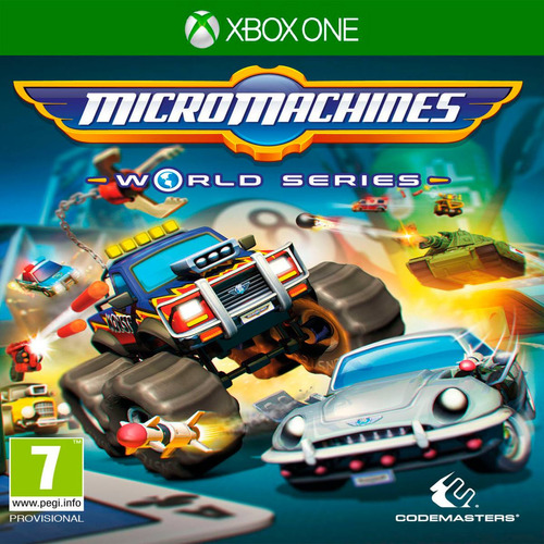 oni games - micro machines world series x-box one