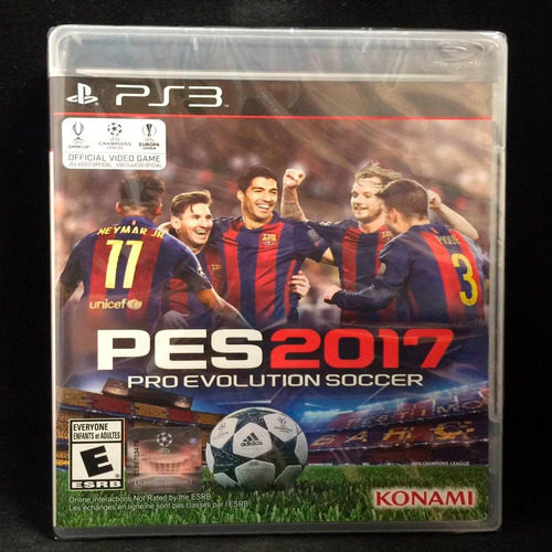 oni games - pro evolution soccer 2017 ps3