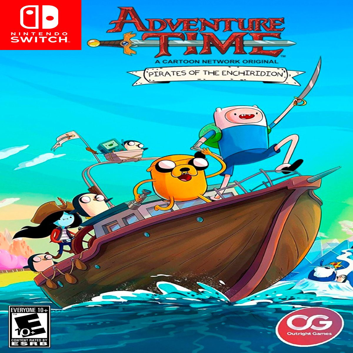 Oni Games - (sin Stock) Adventure Time Pirates N Switch - $ 2 950,00