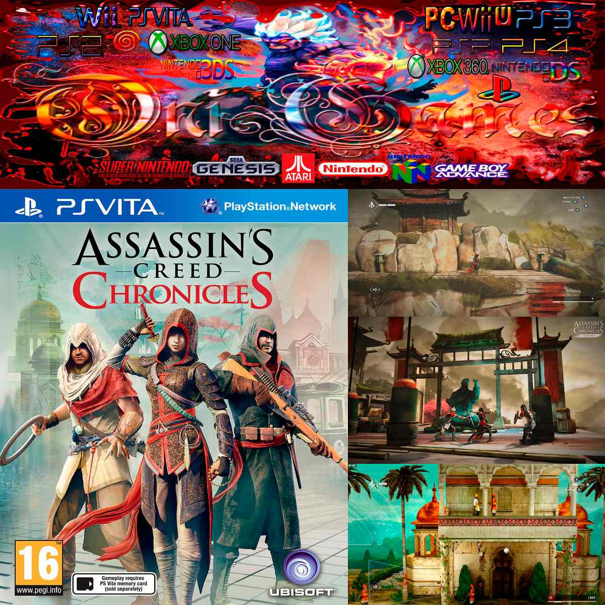 Oni Games Sin Stock Assassin S Creed Chronicles Ps Vita