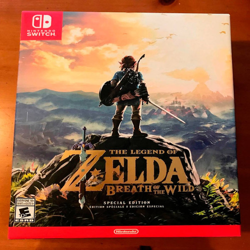 oni games - (sin stock) legend of zelda botw spec ed wii u